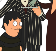 Addams' Family Burgers Sticker