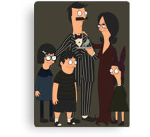 Addams' Family Burgers Canvas Print