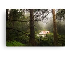 House in the Hills Canvas Print