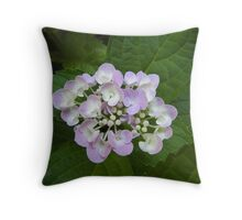 june bouquet Throw Pillow