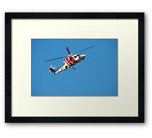 Rescue Helicopter - Newcastle Hunter Region Framed Print