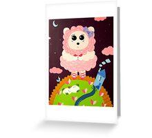 Lofty Ideals Greeting Card