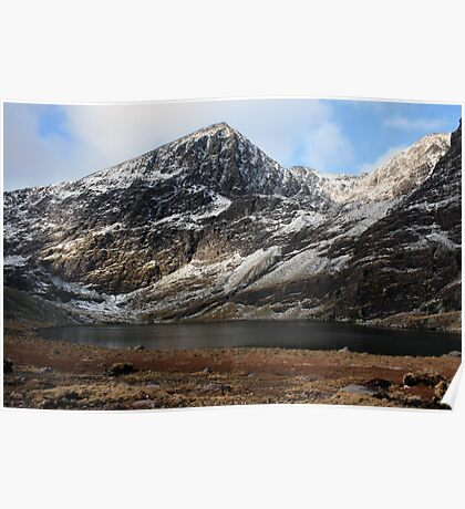 Carrauntoohil in winter Poster