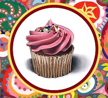 Pink Cupcake by Thaneeya McArdle