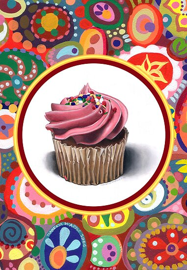 Pink Cupcake by Thaneeya McArdle