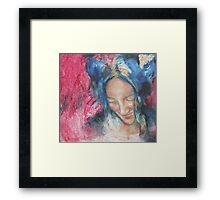 the singer Framed Print