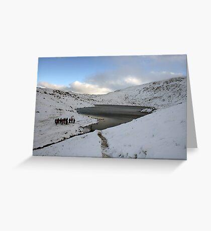 Winter on Mangerton Greeting Card
