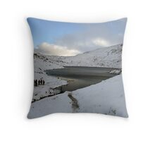 Winter on Mangerton Throw Pillow