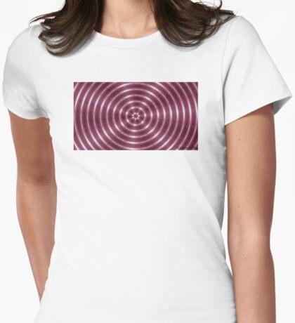 Pink Kaleidoscope  Womens Fitted T-Shirt