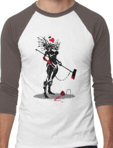 The Queen of Hearts Men's Baseball ¾ T-Shirt
