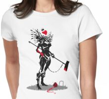 The Queen of Hearts Womens Fitted T-Shirt