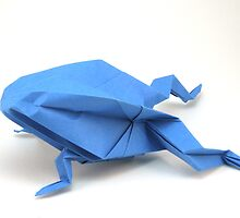 Origami frog by gordy