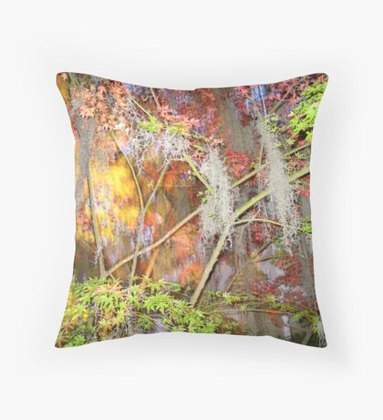 Explosion of Fall Colors © Throw Pillow