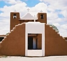 Adobe Church ©  by Mary Campbell