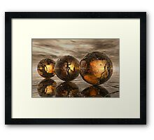 The Hidden Story Within Framed Print