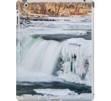 Wintry Waterfall iPad Case/Skin