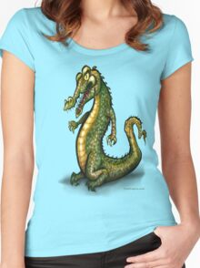 Crocodile Women's Fitted Scoop T-Shirt