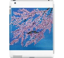 Love among the cherry blossoms iPad Case/Skin
