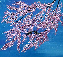 Love among the cherry blossoms by cathyjacobs