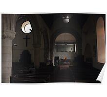Abercorn Church Interior Poster