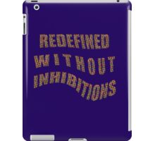 without INHIBITIONS iPad Case/Skin