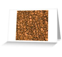 Orange Spots Greeting Card