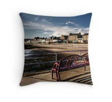 Sit and enjoy the view Throw Pillow