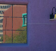 Purple wall, Tucson by fauselr