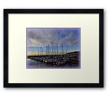 Dusk in Washington Framed Print