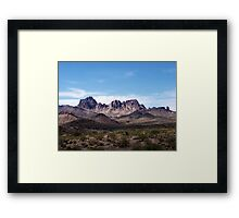 Nevada scenery: I Framed Print