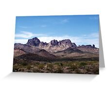 Nevada scenery: I Greeting Card
