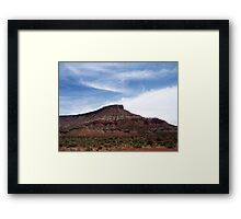 Nevada scenery: II Framed Print