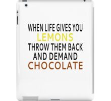 When Life Gives You Lemons iPad Case/Skin