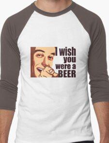 Beer t-shirt Men's Baseball ¾ T-Shirt