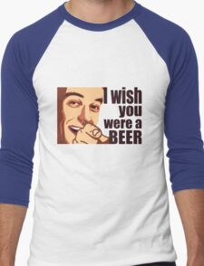 Beer t-shirt Men's Baseball ¾ T-Shirt