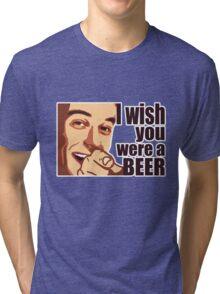 Beer t-shirt Tri-blend T-Shirt