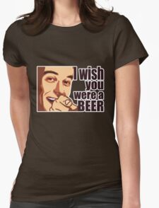 Beer t-shirt Womens Fitted T-Shirt