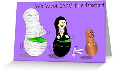 Halloween Invite card by EddyG