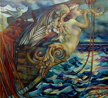 figurehead or ... fishing by elisabetta trevisan