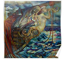 figurehead or ... fishing Poster