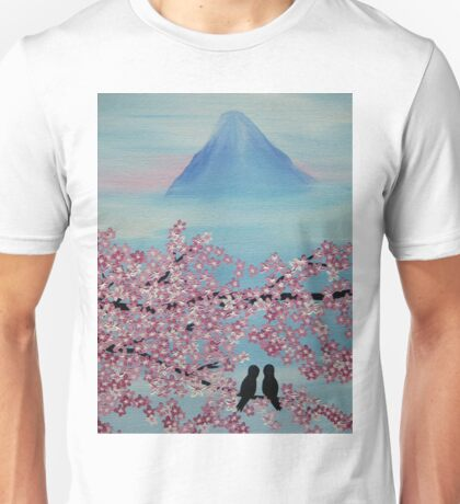 Below Mt Fuji Unisex T-Shirt