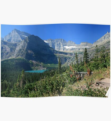 Glacier National Park: Grinnel Lake Poster