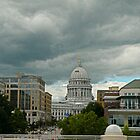 Storm Clouds over the Capital by Martha Sherman
