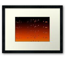 Orangey Framed Print