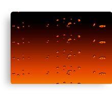 Orangey Canvas Print