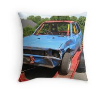 End of the road? Throw Pillow
