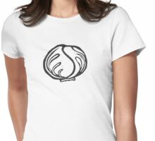 Cabbage Womens Fitted T-Shirt