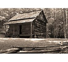 John Ownby's Cabin Photographic Print