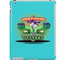 Oysters In A Half Shell iPad Case/Skin