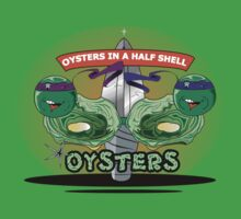 Oysters In A Half Shell Kids Clothes